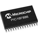 Фото 2/2 PIC16F886-E/SS, 8 Bit MCU, PIC16 Family PIC16F8XX Series Microcontrollers, 20 МГц, 14 КБ, 368 Байт, 28 вывод(-ов)
