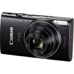 "Фотоаппарат Canon IXUS 285HS черный 20.2Mpix Zoom12x 3"" 1080 ..."