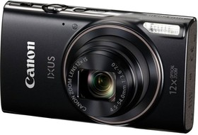 "Фото 1/9 Фотоаппарат Canon IXUS 285HS черный 20.2Mpix Zoom12x 3"" 1080 SD CMOS IS opt 1minF 2.5fr/s 30fr/s/WiFi/NB-11LH"