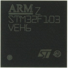 Фото 1/2 STM32F103VEH6, MCU ARM 32BIT 512KB FLASH BGA-100