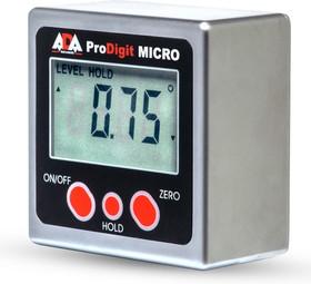 Фото 1/5 PRO-Digit MICRO, Угломер-уровень, электронный, магнитный