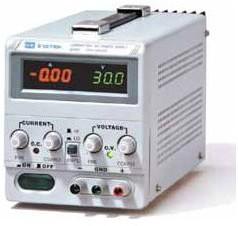 GPS-73030DD, Источник питания, 0-30V-3A, 2хLED (Госреестр)