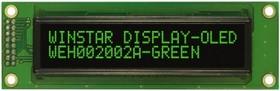 WEH002002AGPP5N00001, Индикатор 2002 зеленый 116х37 мм