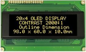 WEH002004BLPP5N00000, Индикатор 2004 желтый 98х60 мм