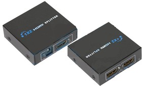 17-6901, Делитель гнездо HDMI на 2 гнезда HDMI, металл | купить в розницу и оптом
