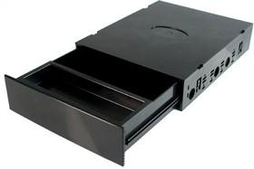 """BOX-MK черная, Ячейка для системного блока в отсек 5.25"""""""