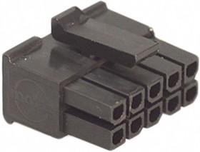 43025-1000, Розетка кабельная 10pin