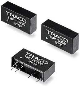 TMV 2415D, DC/DC преобразователь, 1Вт, вход 21.6-26.4В, выход 15,-15В/30мА