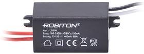 LD6W, AC/DC LED, 13...15В,0.4А,6Вт, блок питания для светодиодного освещения