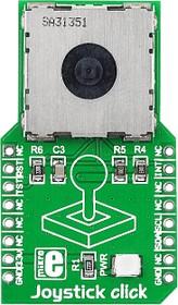 Фото 1/4 MIKROE-1506, Joystick click, Джойстик форм-фактора mikroBUS