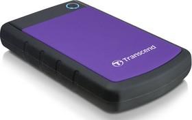 Внешний жесткий диск TRANSCEND StoreJet 25H3P TS2TSJ25H3P, 2Тб, фиолетовый