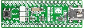 Фото 1/5 MIKROE-1367, MINI-M4 for STM32, Миниатюрная отладочная плата ARM Cortex-M4 на базе STM32F415RG