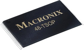 MX29LV640EBTI-70G, Флеш память, Параллельная NOR, 64 Мбит, 8М x 8бит / 4М x 16бит, CFI, Параллельный, TSOP