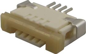 52207-3433, FFC / FPC разъем, 1 мм, 34 контакт(-ов), Гнездо, Easy-On 52207 Series, Поверхностный Монтаж, Верх