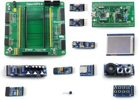 Фото 1/7 Open32F0-D Package B, Отладочный набор (STM32F0DISCOVERY+ модули расширения)