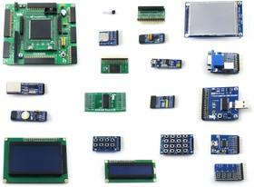 Фото 1/9 OpenEP3C16-C Package B, Отладочный набор на базе FPGA EP3C16 (Cyclone III)
