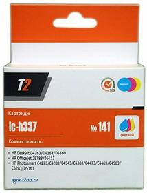 Картридж T2 141 CB337HE IC-H337, многоцветный