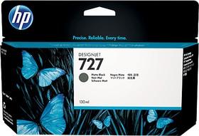 Картридж HP 727 B3P22A, черный матовый
