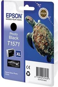 Картридж EPSON C13T15714010 фото черный