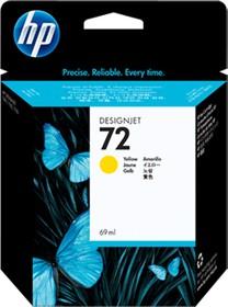 Картридж HP 72 C9400A, желтый