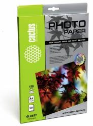 Фотобумага Cactus CS-GA415050 A4/150г/м2/50л./белый глянцевое для струйной печати