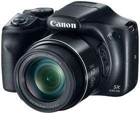 "Фото 1/4 Фотоаппарат Canon PowerShot SX540 HS черный 20.3Mpix Zoom50x 3"" 1080p SDXC/SD/SDHC CMOS 1x2.3 IS opt 5.9fr/s 30fr/s HDMI/WiFi/NB-6LH"