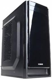 Корпус mATX ZALMAN ZM-T2 Plus, Mini-Tower, без БП, черный