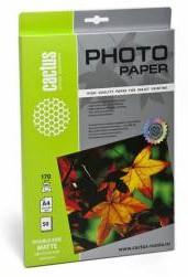 Фотобумага Cactus CS-MA417050DS A4/170г/м2/50л./белый матовое/матовое для струйной печати