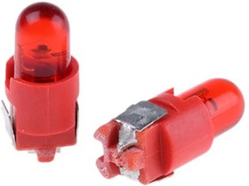 LAD-SR, RED LED FOR 8MM SUB MINIATURE SWITCH