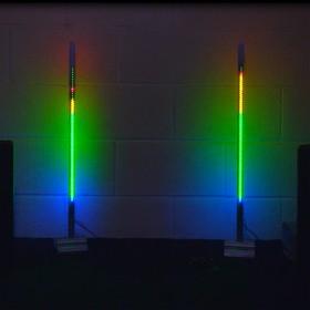 Фото 1/3 VU-meter, Контроллер индикатора уровня звука на светодиодах WS2812b, Neopixel