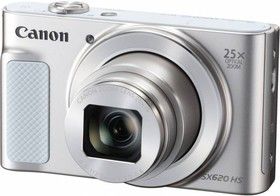 "Фото 1/6 Фотоаппарат Canon PowerShot SX620 HS белый 20.2Mpix Zoom25x 3"" 1080p SDXC/SD/SDHC CMOS 1x2.3 IS opt 5minF 2.5fr/s 30fr/s HDMI/WiFi/NB-13L"