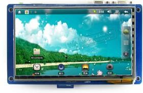 Фото 1/3 x210ii Package C, Мини компьютер на базе Cortex-A8 (SAMSUNG S5PV210) с тач скрин LCD