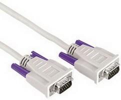 Кабель VGA HAMA H-42089 (серый), VGA HD15 (m) - VGA HD15 (m), 1.8м, серый [00042089]