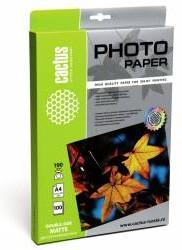 Фотобумага Cactus CS-MA4190100DS A4/190г/м2/100л./белый для струйной печати
