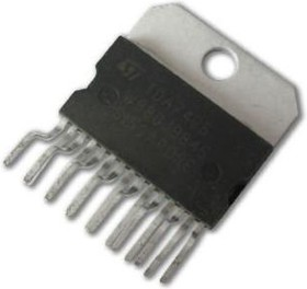 TDA7495, УНЧ 11W+11W [HZIP15]