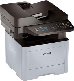 МФУ SAMSUNG SL-M3870FW/XEV, A4, лазерный, белый