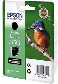 Фото 1/2 Картридж EPSON C13T15914010 фото черный