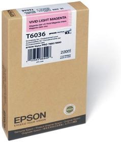 Картридж EPSON C13T603600 светло-пурпурный