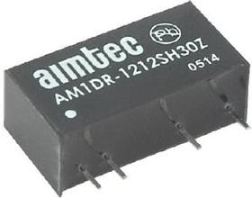 AM1DR-0505SZ, DC/DC преобразователь, 1Вт, вход 4.5-5.5В, выход 5В/0.2A