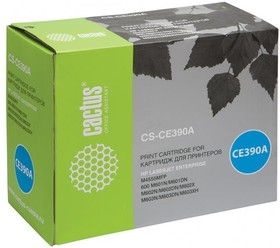 Картридж CACTUS CS-CE390A черный