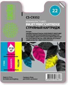 Картридж CACTUS CS-C9352 №22, многоцветный