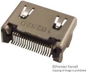 2013978-1, HDMI C TYPE REC ASSY DIP-SMT TYPE 70AC8807