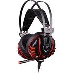 Наушники с микрофоном A4 Bloody M615 черный 2.2м мониторные ...