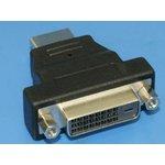4412-1, Переходник DVI 25гнездо - HDMI 19 вилка