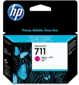 Картридж HP №711 CZ131A, пурпурный