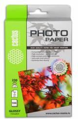 Фотобумага CACTUS для струйной печати, 230г/м2, 100 листов [cs-ga6230100]