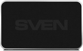 Фото 1/6 SVEN PS-85, черный, акустическая система (1.0, мощность 5 Вт (RMS), Bluetooth, FM-тюнер, USB, microSD, встроенный аккумулятор), SVEN PS-85,