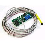 Фото 3/3 STH0014UB, Встраиваемый цифровой термометр с выносным датчиком ( голубой индикатор)