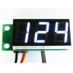 STH0014UW, Встраиваемый цифровой термометр с выносным датчиком ( белый индикатор)