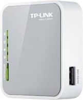 Беспроводной маршрутизатор TP-LINK TL-MR3020, белый